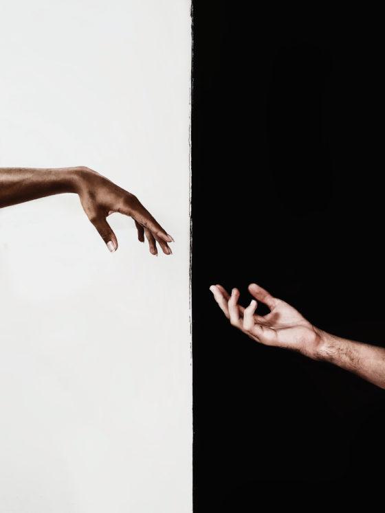 Opposite hands